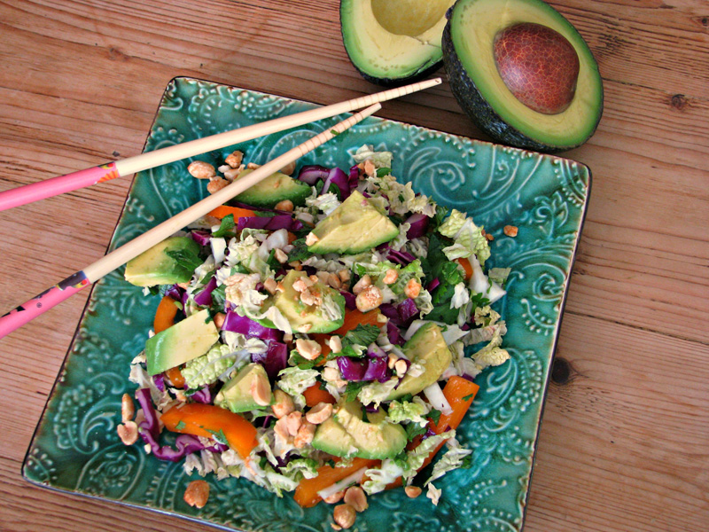 Avocado-Thai-Coleslaw