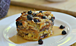 Blueberry Almond French Toast Cups