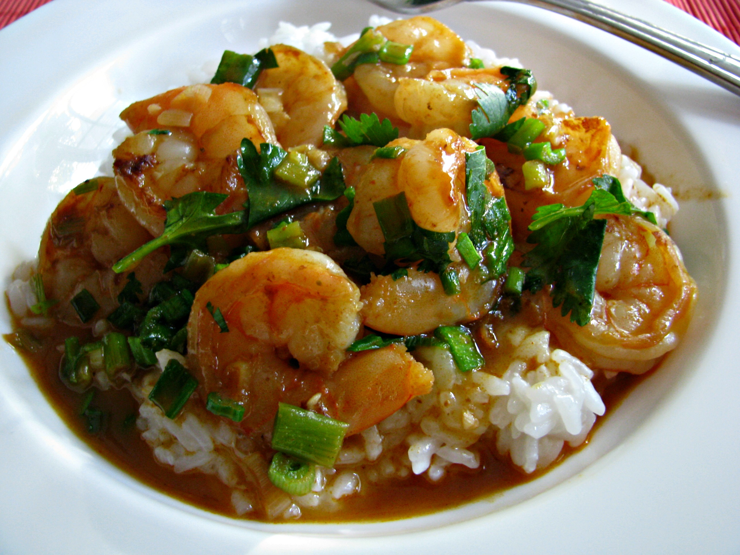 Thai Coconut Curry Shrimp Recipe — Dishmaps