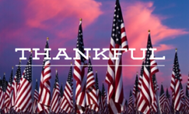 Thankful, Memorial Day and Wellness