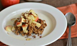 Pumpkin Nut Oatmeal in a Slow Cooker