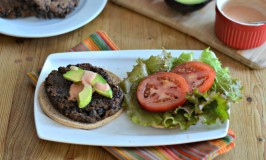 Home Made Black Bean Burgers
