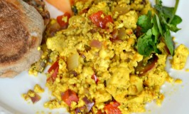 Scrambled Tofu {Vegan}