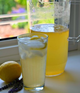 lavendar Lemonade Tea
