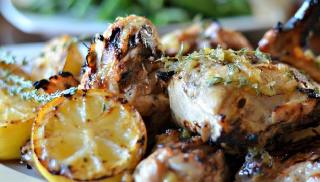 Beer Marinated Lemon Grilled Chicken
