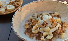 Coco-Nutty Banana Oatmeal