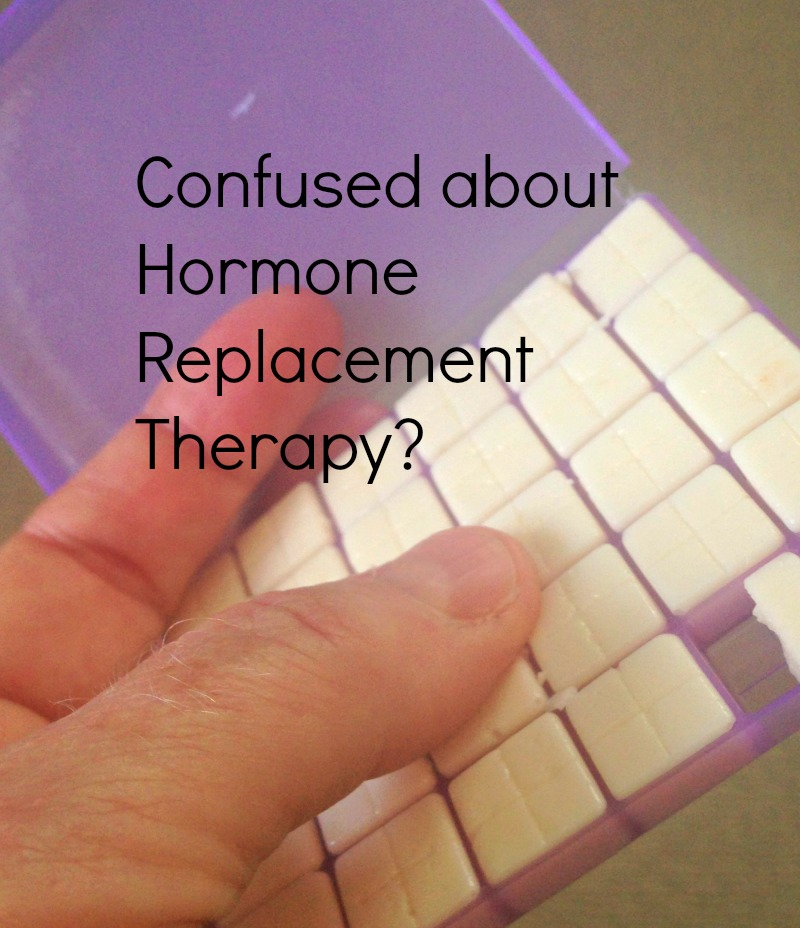 Confused about hormone replacement therapy This may help!