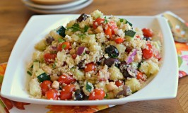 Greek Quinoa Chop Salad
